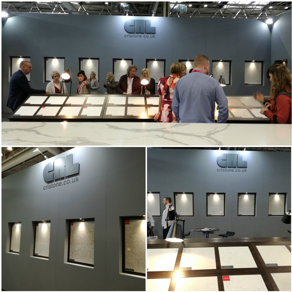 We're delighted to see how well our new colours have been received @kbblive this week. If you've not seen our stand F85 yet then you still have this afternoon to come and see them for yourself! #kbb2018 #kbblive