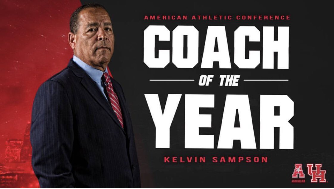 Big-ups to Coach Sampson doing a hell of a job over there at @UHouston. Stay the course 🔐