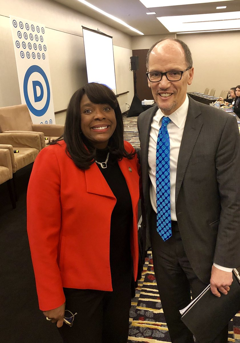 Great speaking @DNC to thank @TomPerez a...
