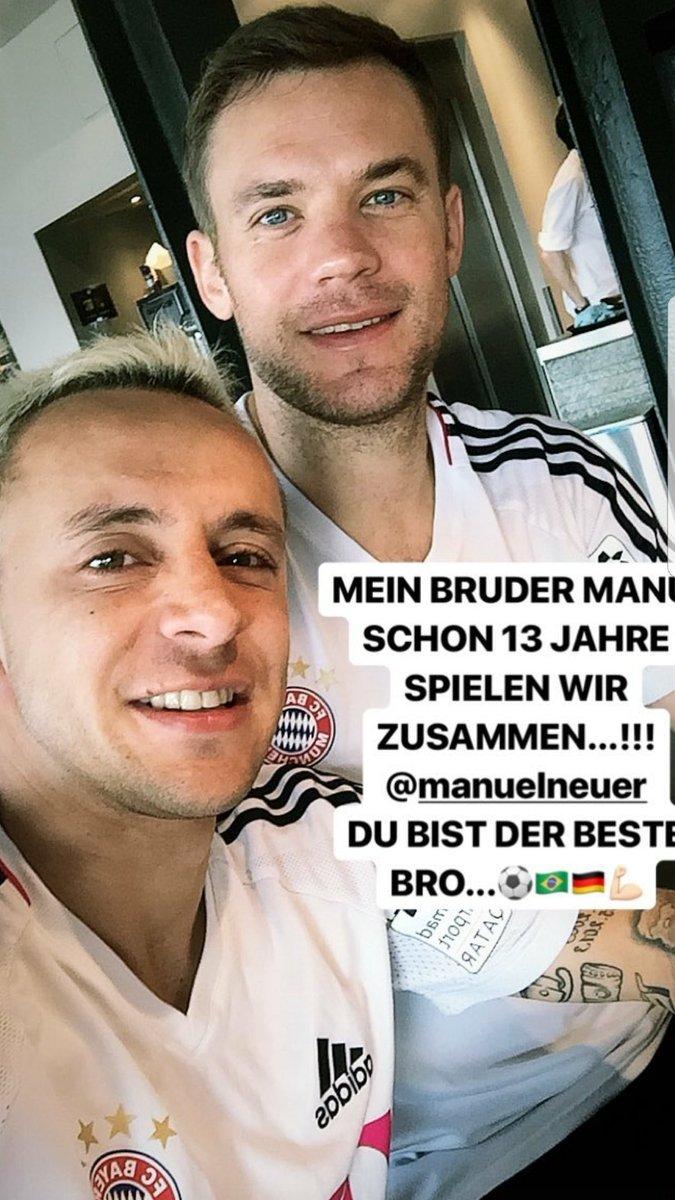 Mein Bruder @Manuel_Neuer! #MiaSanMia #F...