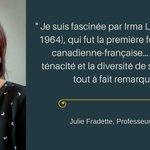 Image for the Tweet beginning: #IWD2018 #JulieFradette est devenue une