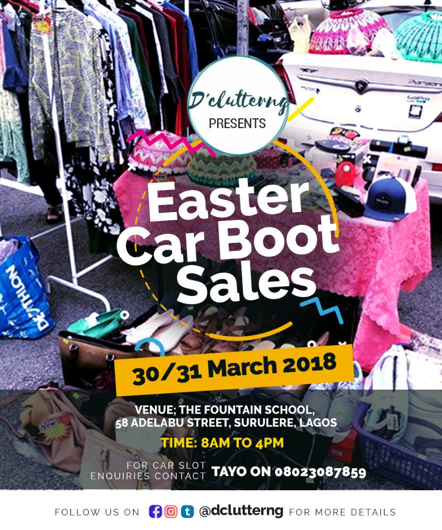 D Clutterng On Twitter For More Info Reach Out To Us On Whatsapp 08023087859 Carbootsalenaija Thriftstorenaija
