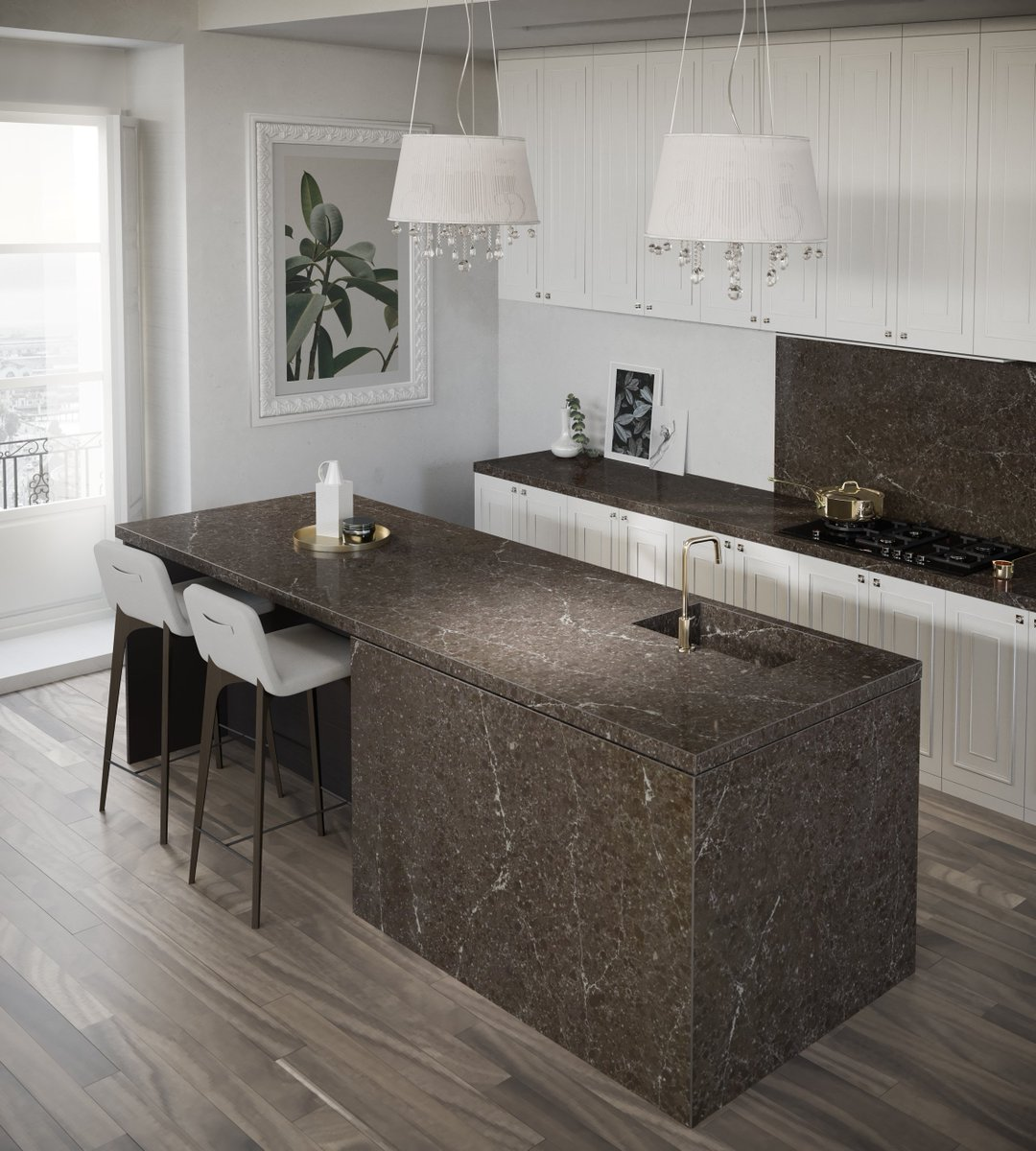 We are delighted to have launched five stunning new additions to our #Silestone Eternal Collection at #kbb18 - inspired by the most coveted marbles, the five surfaces offer beautiful aesthetics and practical functionality