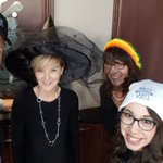 Image for the Tweet beginning: It's time for #HatsonforHealthcare! The