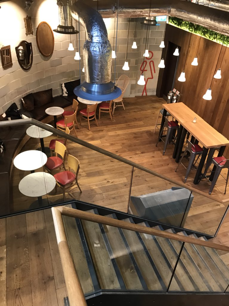 Impressive spaces for meeting and working downstairs at @Albion_London too https://t.co/rkKKhejg1b