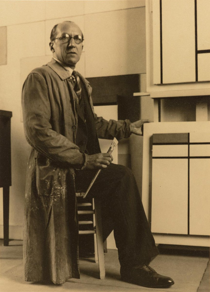 Mondrian Is Best Known For His Abstract Paintings And The Methodical Practice By Which He Made Them Http Ow Ly Wuwm30inyo9 Pic Twitter Com Vjz98qh1