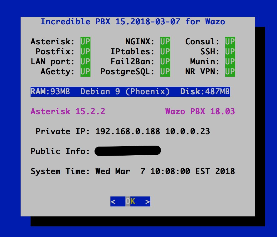 FYI - Not Quite Soup: Wazo 18 03 | PIAF - Your own Linux-based PBX