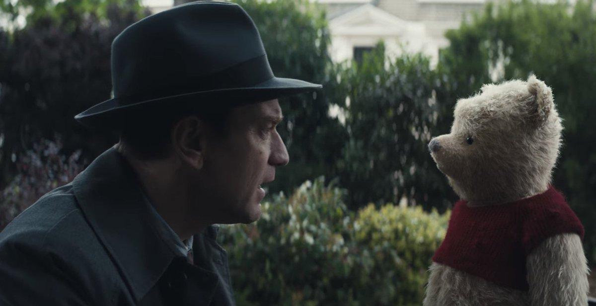 Disney : le prochain film live Christopher Robin montre son Winnie l'Ourson https://t.co/PQcyjTHmMa