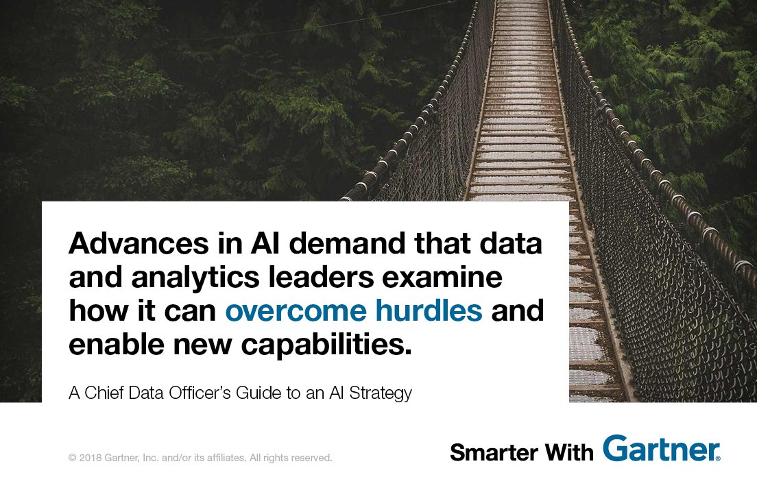 Gartner's guide to #AI strategy for chie...