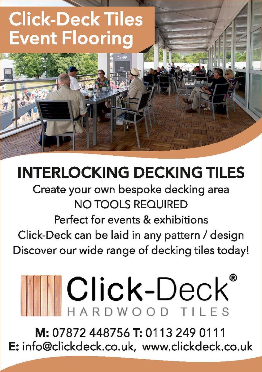 Click deck tiles clickdeck twitter there are so many different uses for our decking tiles in the events industry what can you use them for ppazfo