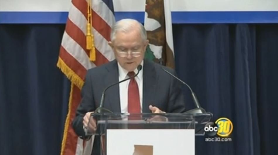 ABC30 Fresno On Twitter LIVE AG Jeff Sessions Speaking In Sacramento About California Lawsuit Tco AVYqecT1zR