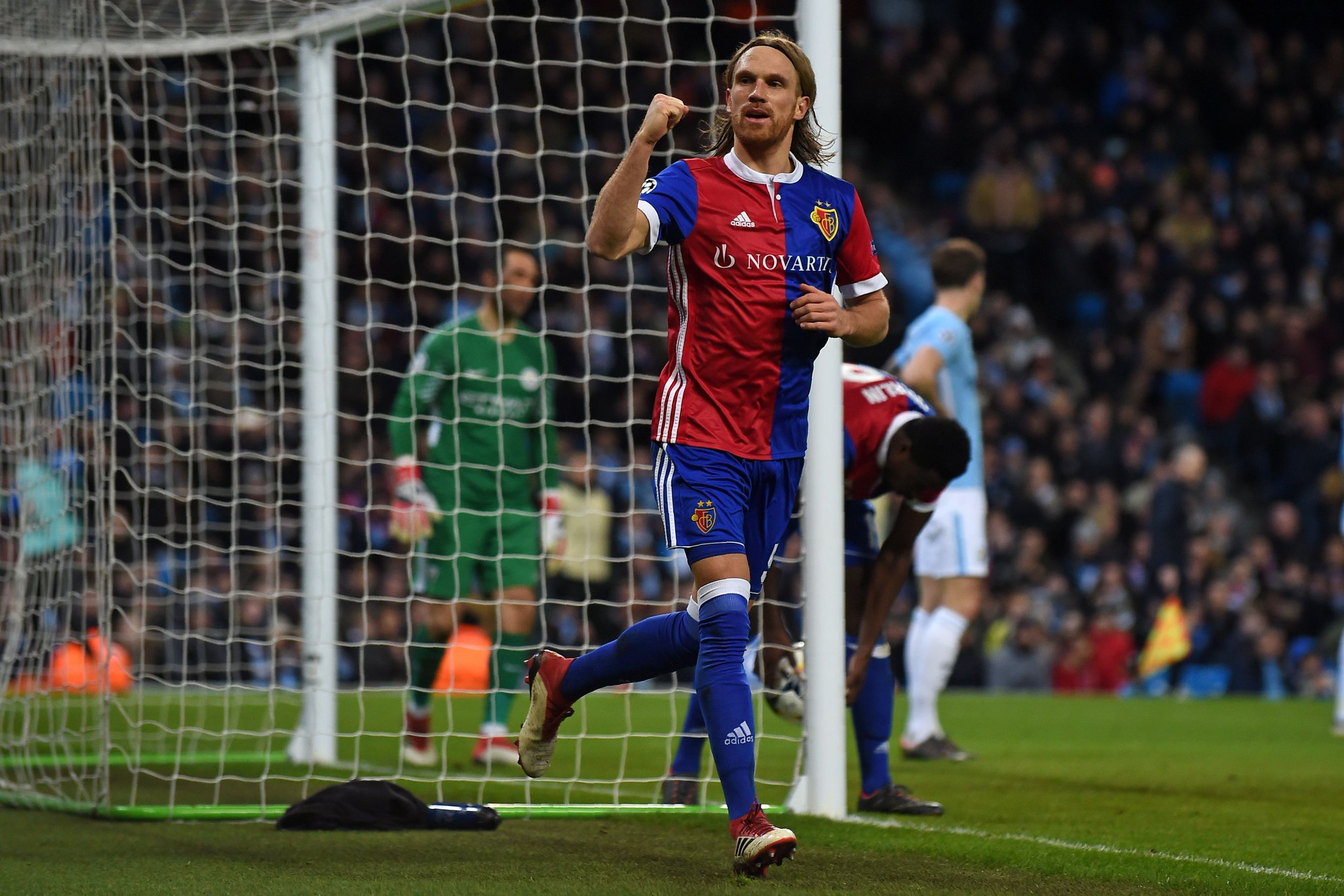 Manchester City 1-2 Basel Highlights