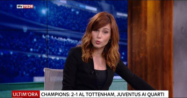 Sky Tg24 Giornalista Capelli Rossi Santandreabarletta