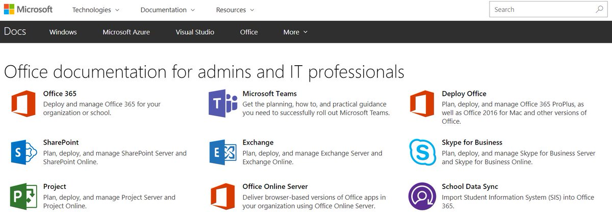 microsoft website for it professionals
