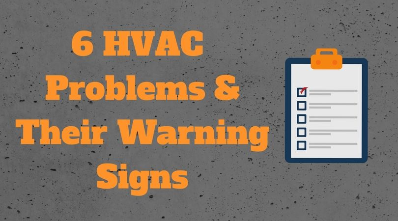Keep an eye out for these warning signs of possible trouble with your #HVAC system! https://buff.ly/2FotaSQ