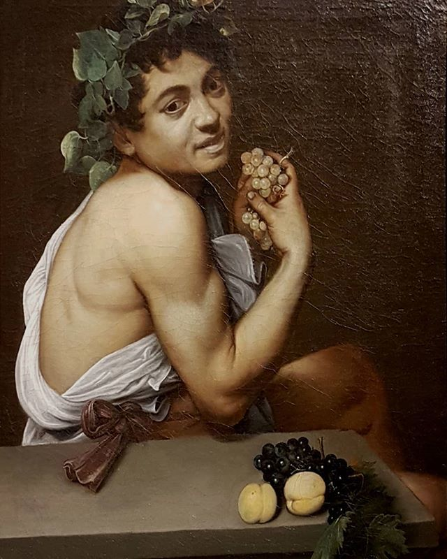 #Caravaggio #selfportrait as #bacchus #painting #GalleriaBorghese #Rome https://t.co/HtXptGroiQ
