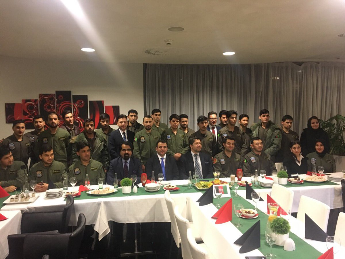 Felt enormous pride and joy while visiting the young Afghans training to become pilots for the Afghan Air Force in the Czech Republic.  Their will and courage is a testament of a better future that awaits Afghanistan.