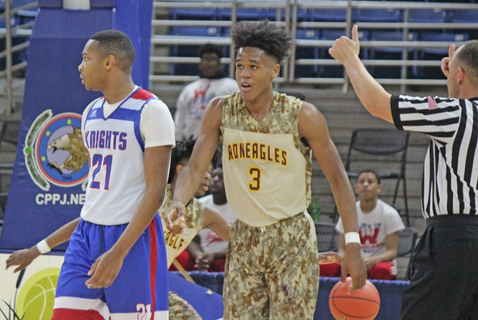 f6f683fde653 Two schools facing off in the Louisiana High School Athletic Association  boys basketball state tournament had a ...