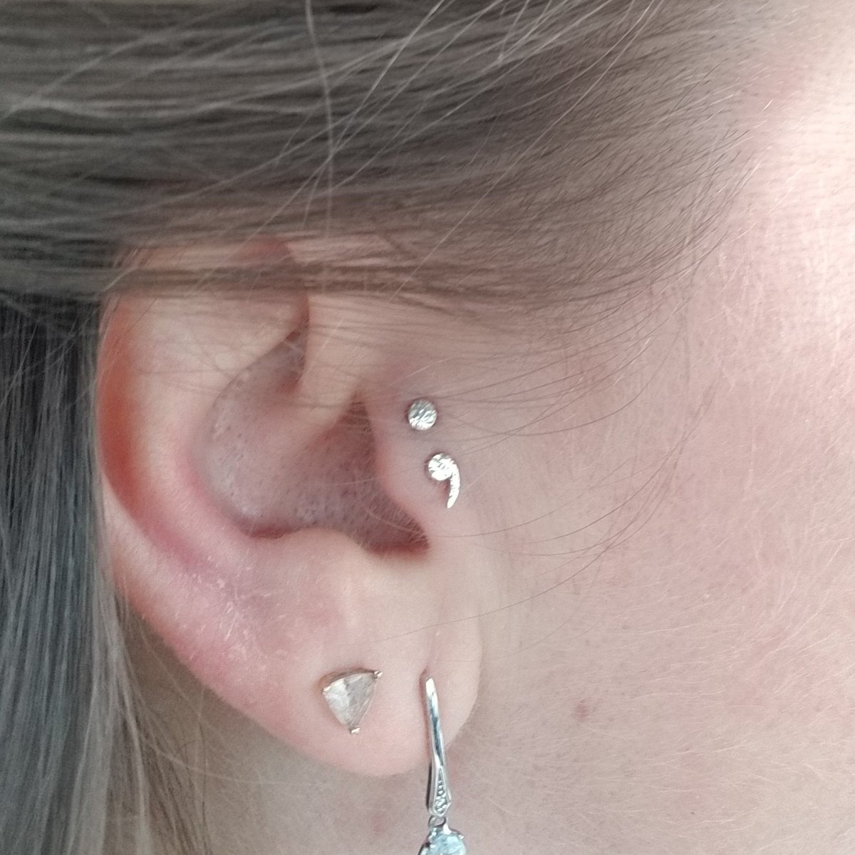 Renee Labranche On Twitter My New Addition Double Tragus
