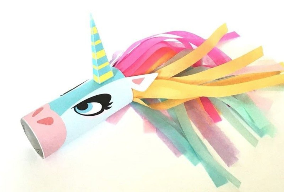 Image result for toilet paper roll crafts unicorn