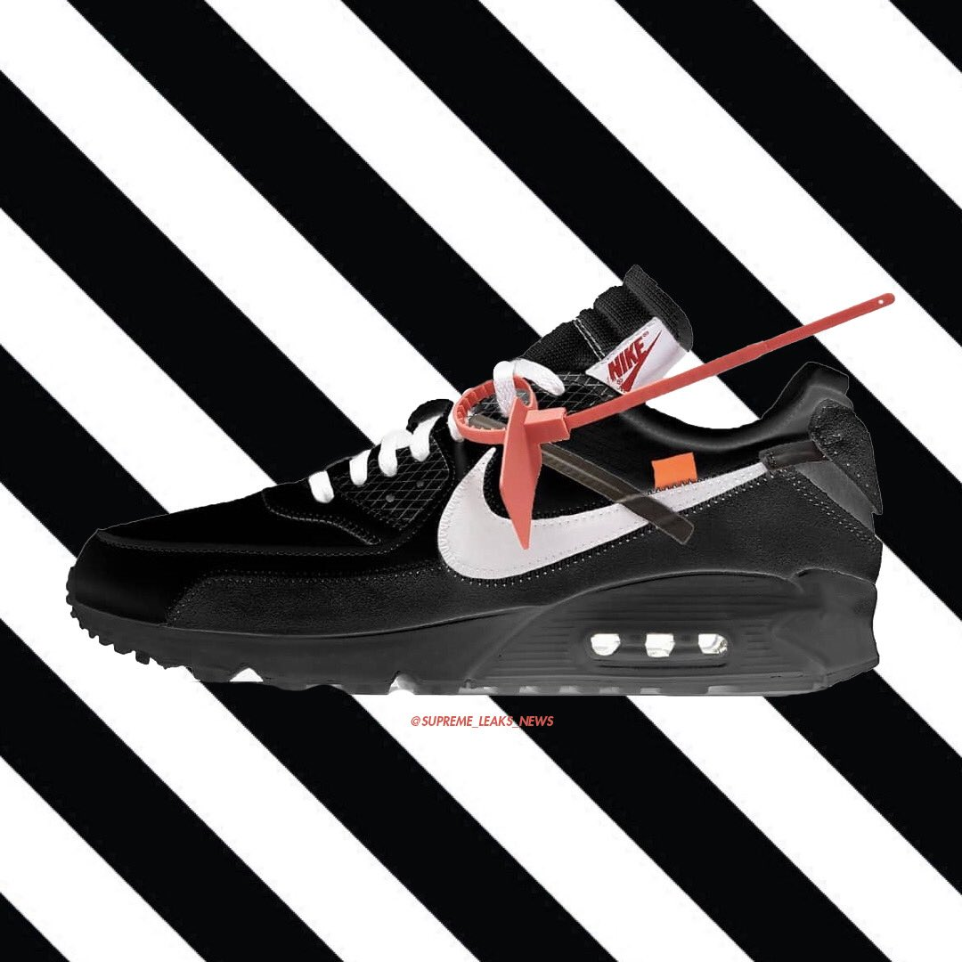 OFF WHITE x Nike Air Max 90 Black October 2018