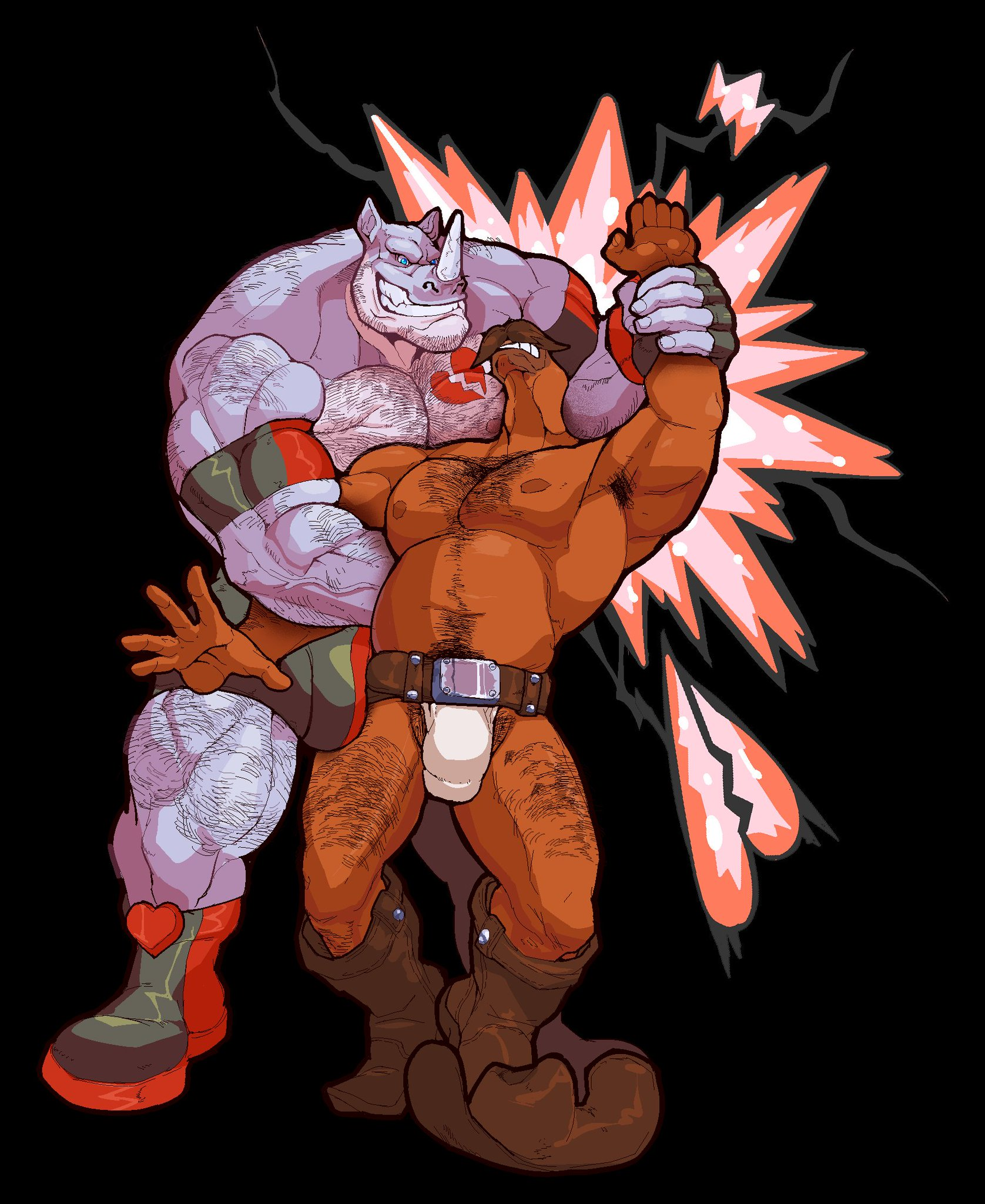 Awsome pic by the fizzy master Reggi got poor carl in a sleeper hold  @floatiesoda https://t.co/bcTU1lP80H