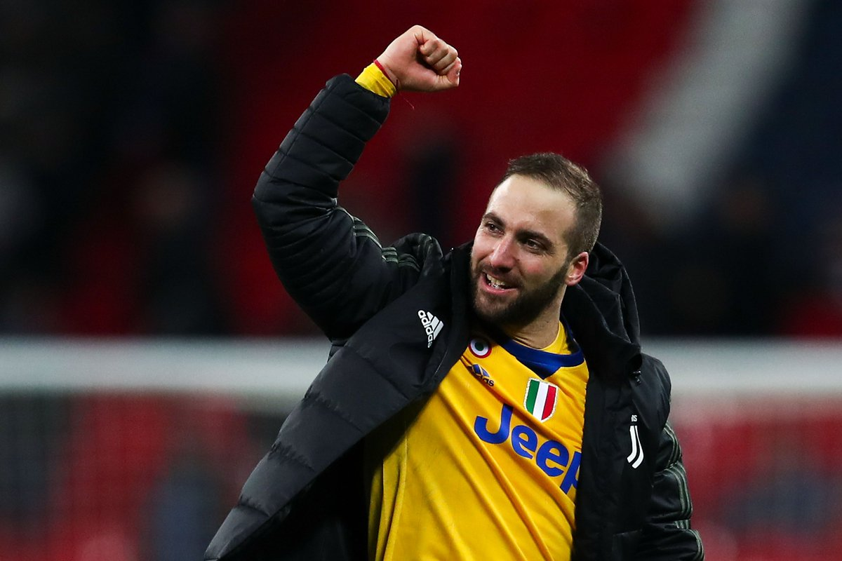 Higuaín has never been on the losing side when he has scored in the #UCL (W15 D4). 👏👏👏