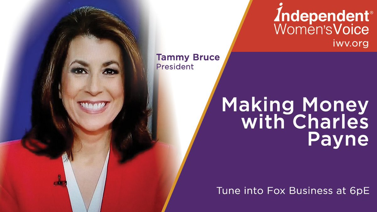 COMING UP  > @HeyTammyBruce @IWV join...
