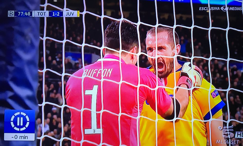 Were going to miss Buffon and Chiellini at the World Cup 🇮🇹