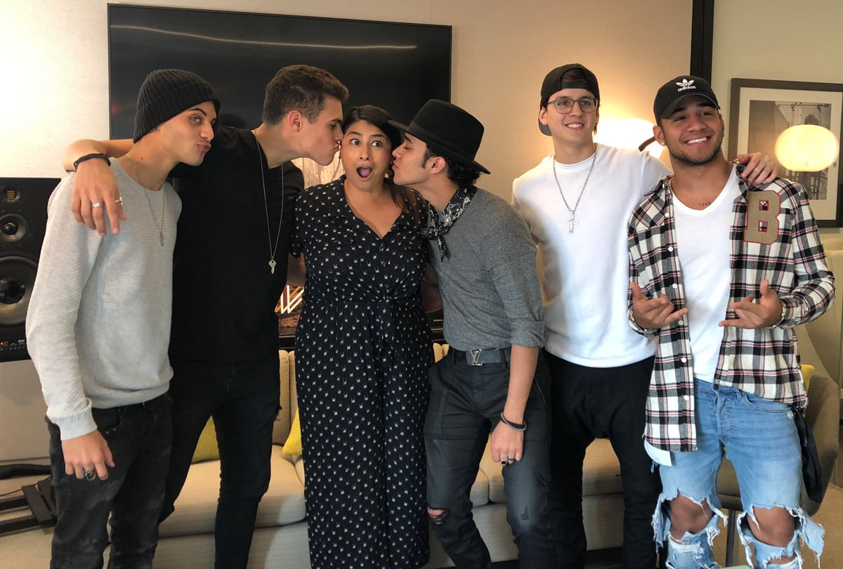 LOVED talking to these guys! Preorder @CNCOmusic new album now via @iTunes before it hits stores 4/6 #CNCOwners https://t.co/K0ZPBLmDEN