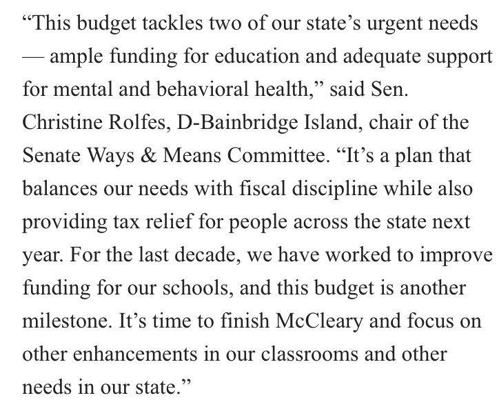 Wa Senate Democrats On Twitter The Senate And House Budget