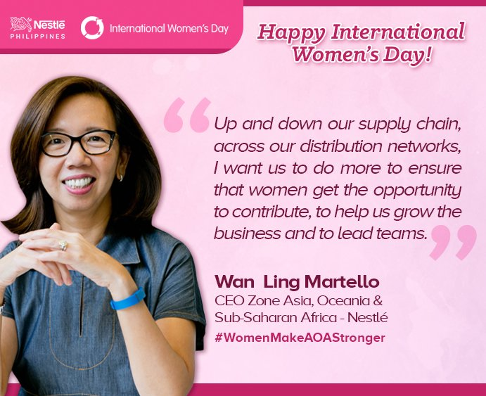 """Happy International Women's Day!"" #IWD2018 https://t.co/axNnxekZBk"