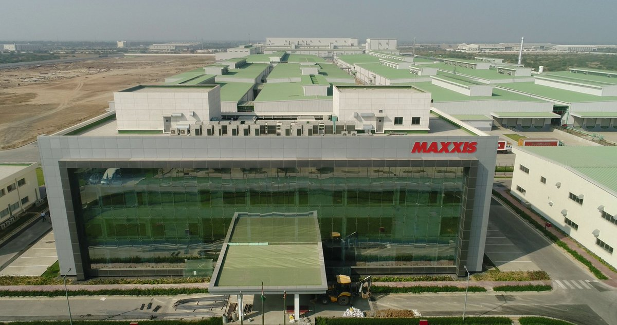 Taiwanese tyre manufacturing plant Maxxis commissions at Sanand