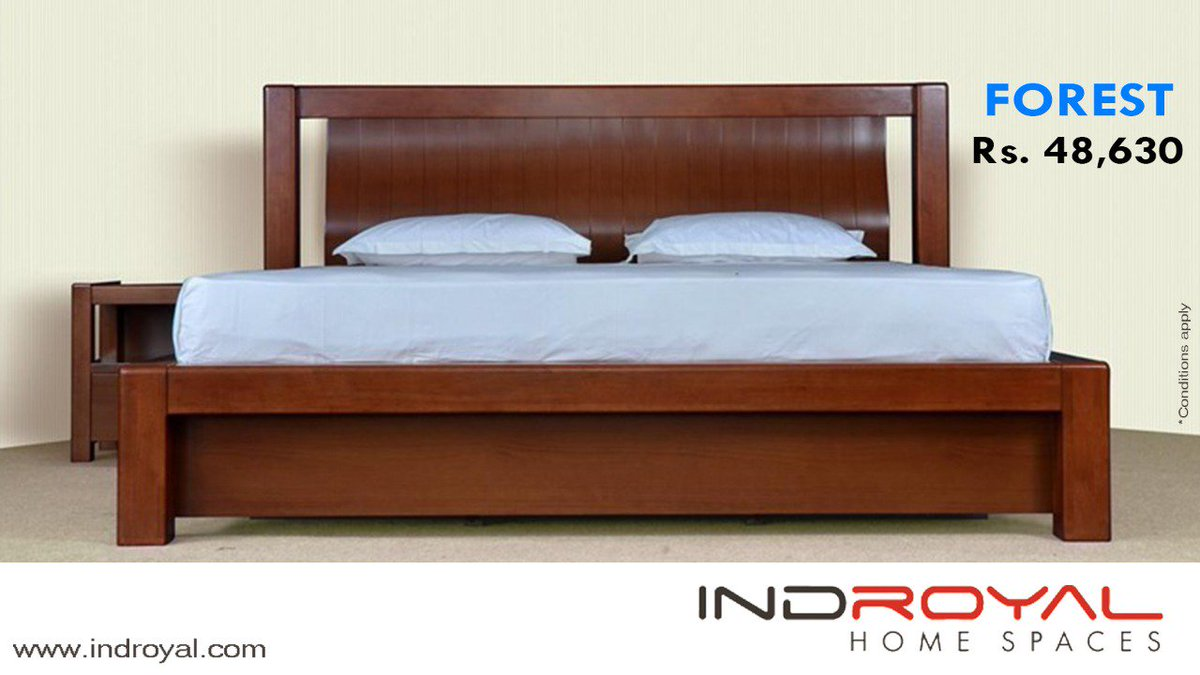 Indroyal Home Spaces IndroyalHspaces Twitter - Indroyal bedroom furniture
