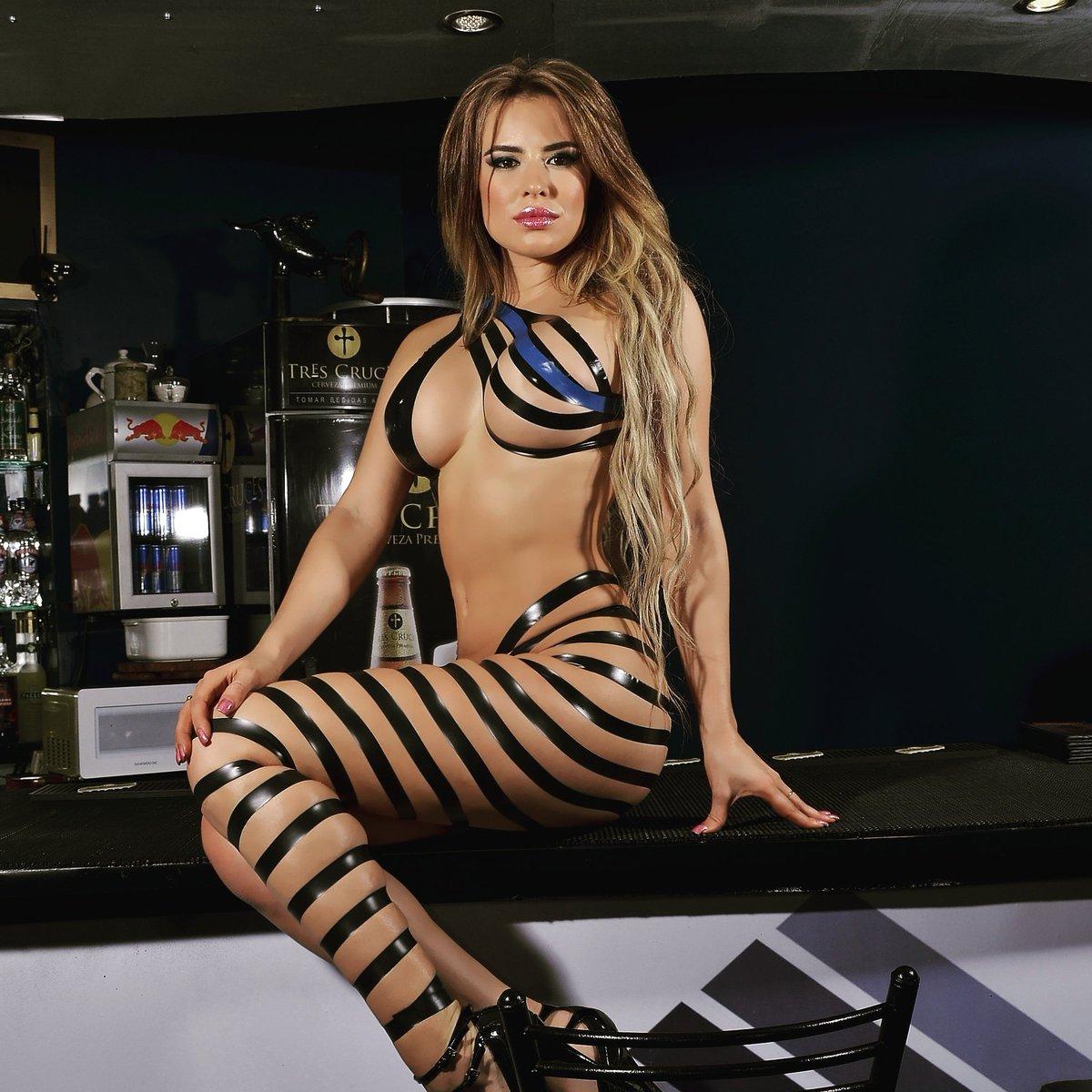 Latina lingerie models