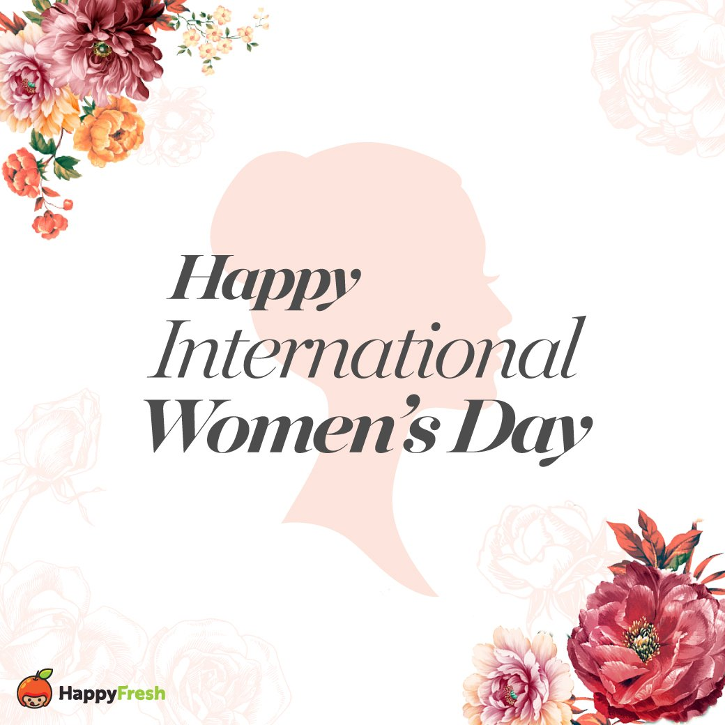 Happy International Women's Day to all of the hardworking and wonderful women out there! Tag a woman who inpires you.  #InternationalWomensDay #WomensDay #8March #HappyFreshTH #วันสตรีสากล https://t.co/Ti9KhzWddm