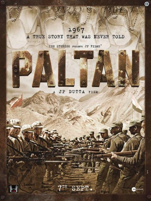 Paltan (2018), Movie Cast, Story and Release Date