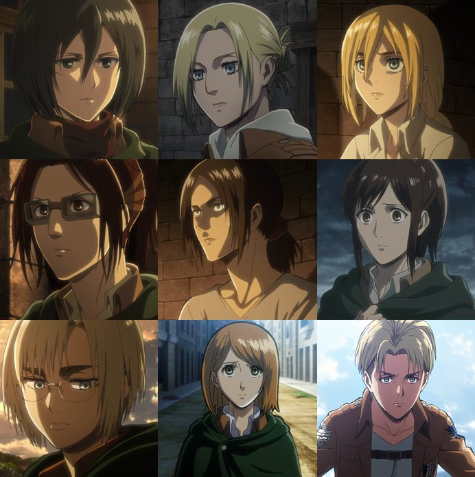 ATTACK ON TITAN GAY CHARACTERS