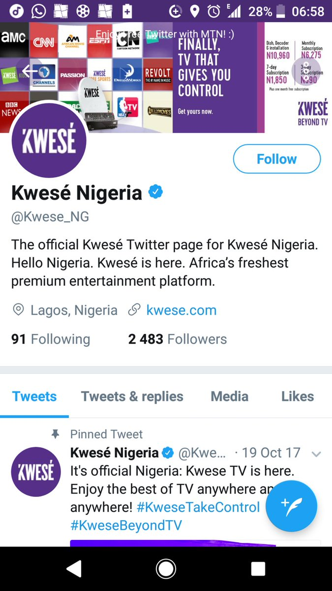 In Nigeria and other African countries Dstv is competing with Kwese TV, that's why they reduced subscriptions prices.