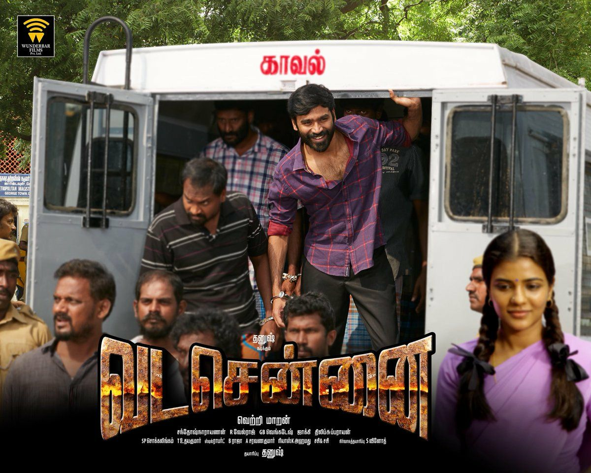 Vadachennai first look and posters released by Dhanush