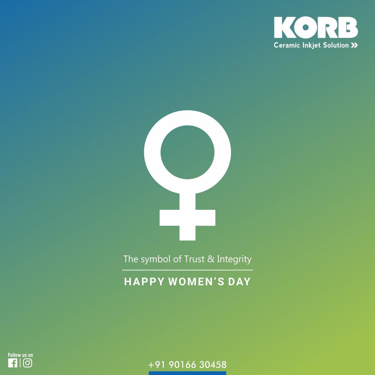 Korb Ceramic Inkjet Solution On Twitter Happy Womens Day The