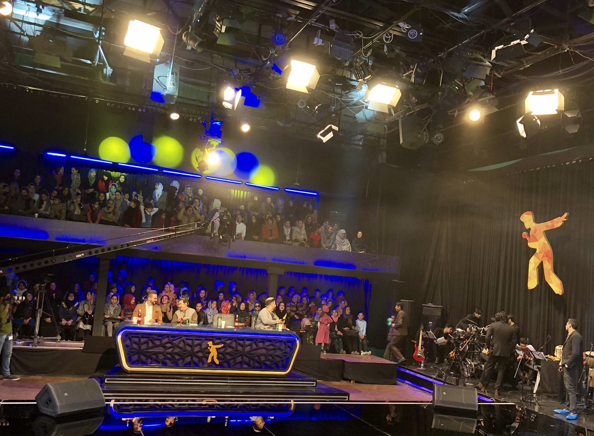 Afghan Star program is one of the most vivid indication of social transformation in AFG. It's a modern program promoting talents breaking through taboo traditions allowing our youth to sing & play music, thanks to @saadmohseni and his team for successful 13 years N more to come
