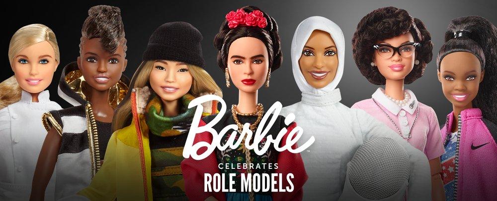 Barbie homenageia 17 mulheres inspiradoras >>> https://t.co/roNpCtyS0M #DiaDaMulher https://t.co/sRT59MDINJ