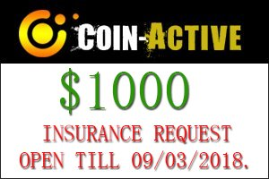 Image for COIN ACTIVE Insurance Open!