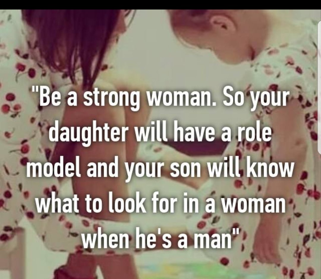 "Quotes On The Role Of Women: Tim Fargo On Twitter: ""Be S Strong Woman. So Your Daughter"