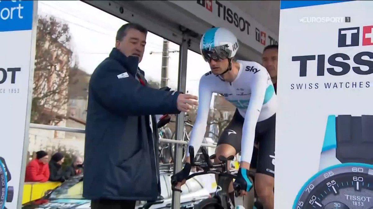 De winnende tijdrit van Wout Poels. In deze vorm kan hij Parijs-Nice winnen!