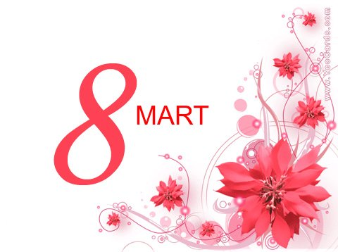 Kızlarrrr 8 Mart Kadınlar Günümüz Kutlu...