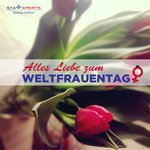 Image for the Tweet beginning: Heute ist #Weltfrauentag 🌷 Wir wünschen