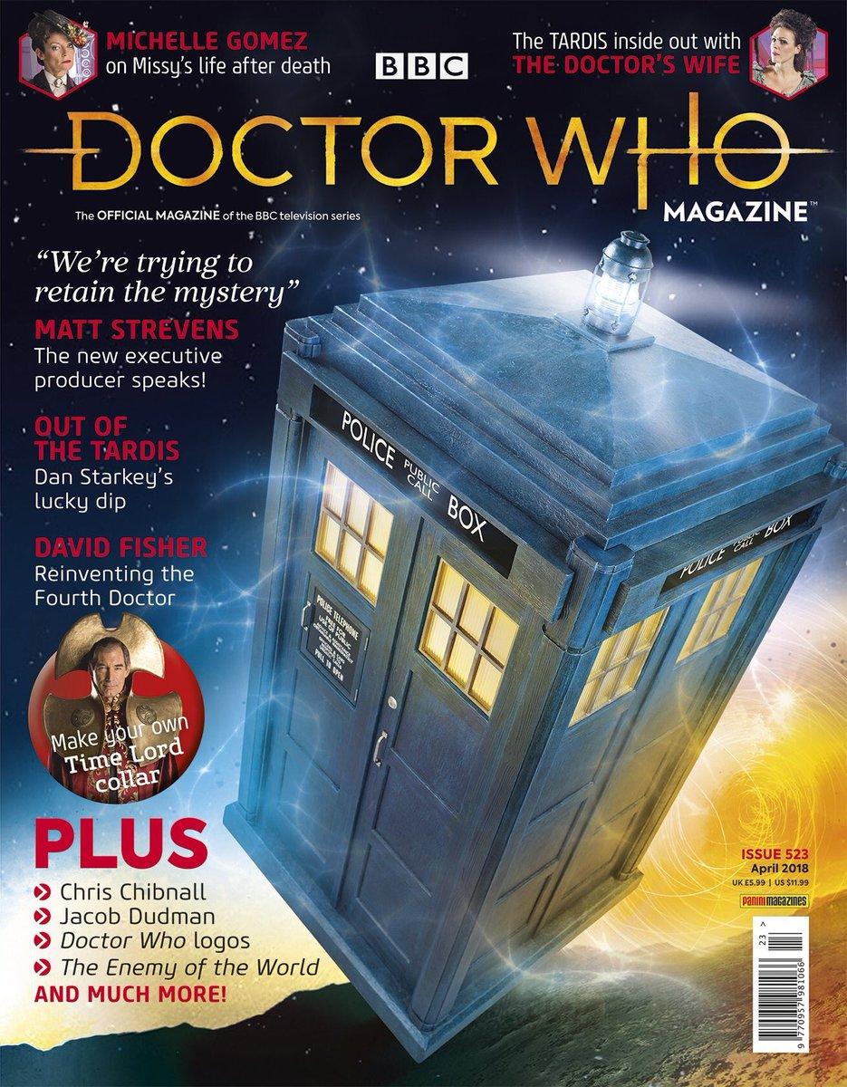 Doctor Who magzine 2018 DXwZBpUX4AIRNCq