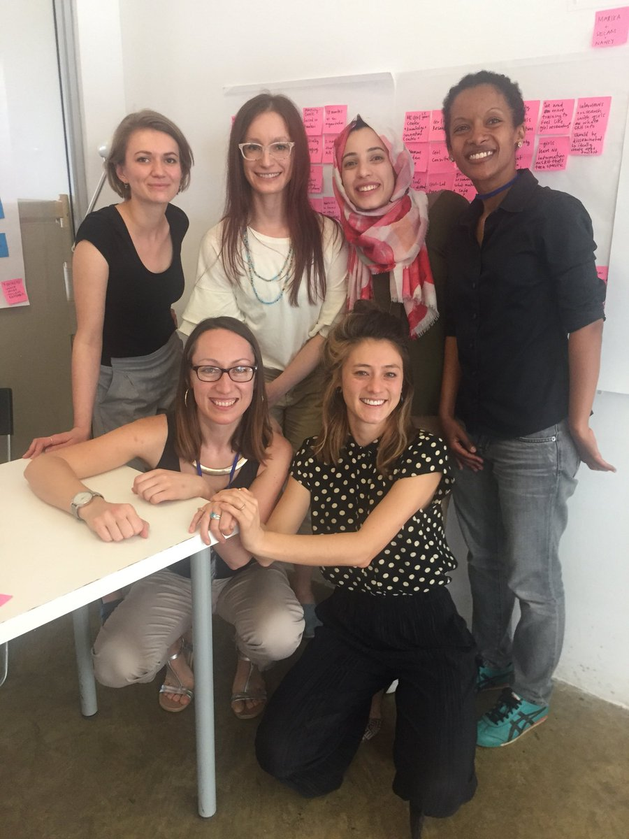 Emily Oliver On Twitter Celebrating Internationalwomensday By Working With A Kick Ass All Female Team Prototyping Sexual Reproductive Health Solutions